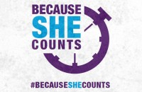 Because She Counts!